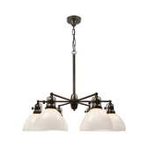 6 Light Antique Chandelier